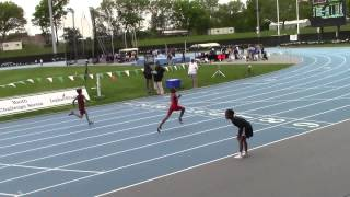 Rayan Porter 7/8 boys 100m - Icahn Stadium NY -Youth Challenge Series Meet 3