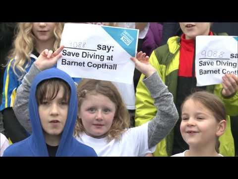 Is there some good news for saving Barnet's diving facility?