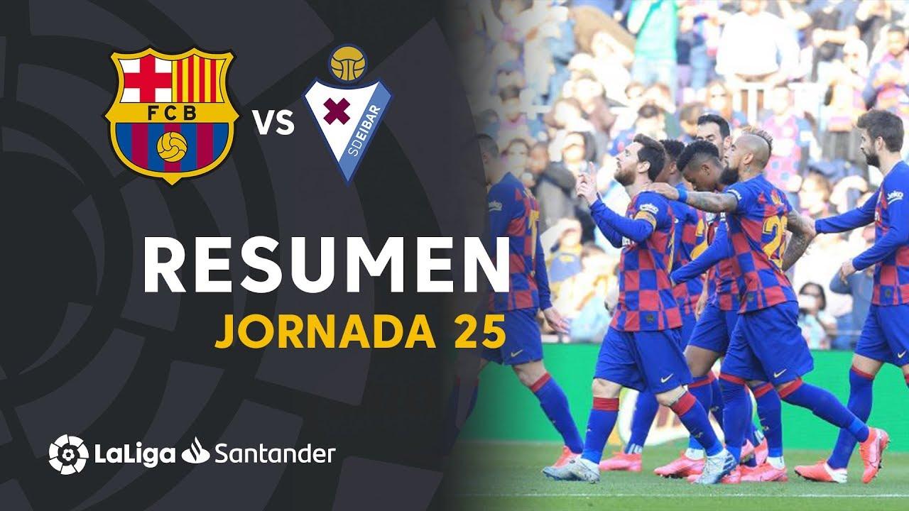 Барселона  5-0  Эйбар видео