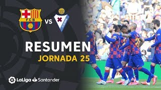 Resumen de FC Barcelona vs SD Eibar (5-0)