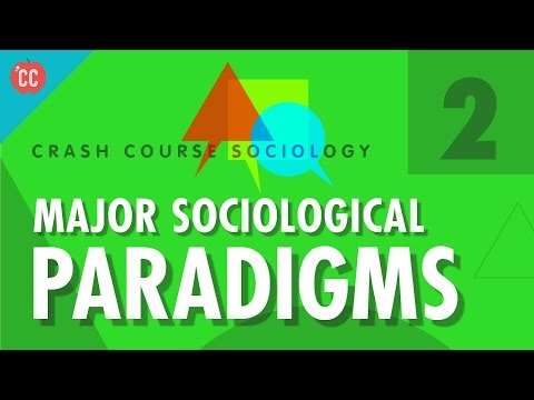 Major Sociological Paradigms: Crash Course Sociology #2