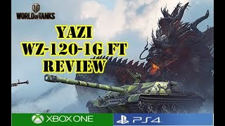 World of Tanks - Yazi WZ-120-1G FT Review