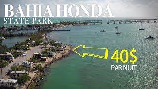 Trouver un CAMPING à la dernière minute au Bahia Honda State Park - le plus beau camping des USA!