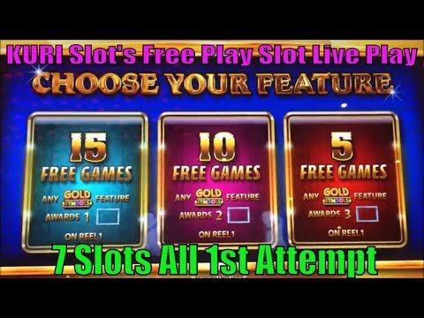 ★SUPER BIG WIN ? FREE PLAY Slot Live ! All slots were the 1st attempt☆7 Slots @ San Manuel Casino☆彡栗