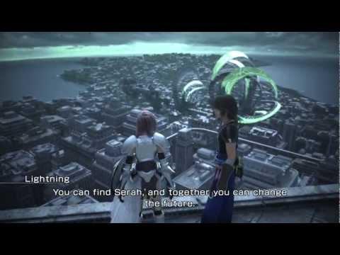 FFXIII-2 Lightning VS Caius HD