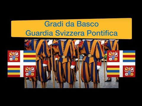 Gradi e Qualifiche Guardia Svizzera Pontifica (basco)