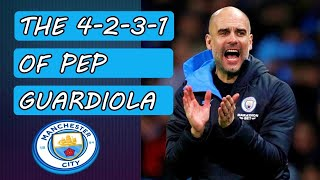 Pep Guardiola's 4-2-3-1! Manchester City F.C. tactics!