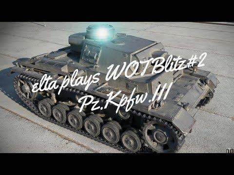 elta plays WoTBlitz PzKpfw.III