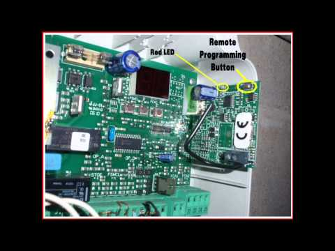 How To Program Remote Control Transmitter For Aleko 174 As