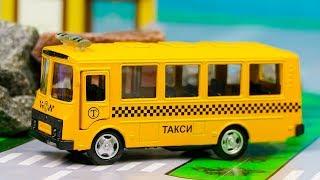 Мультик про Автобус Такси, Монстер Трак, Грузовик 260 Серия Мир Машинок Мультфильм про Машинки
