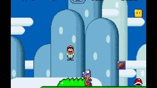 super mario world cap 1 mundo 1 1/3