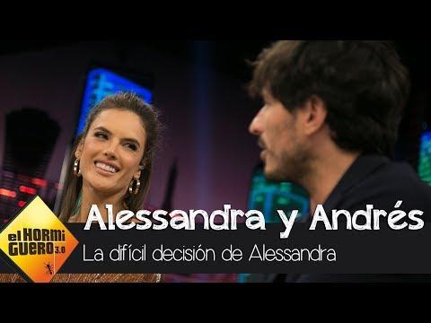 Alessandra Ambrosio confiesa el motivo de abandonar Victoria Secret  - El Hormiguero 3.0