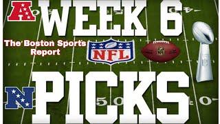 NFL 2021 Week 6 Picks & Predictions