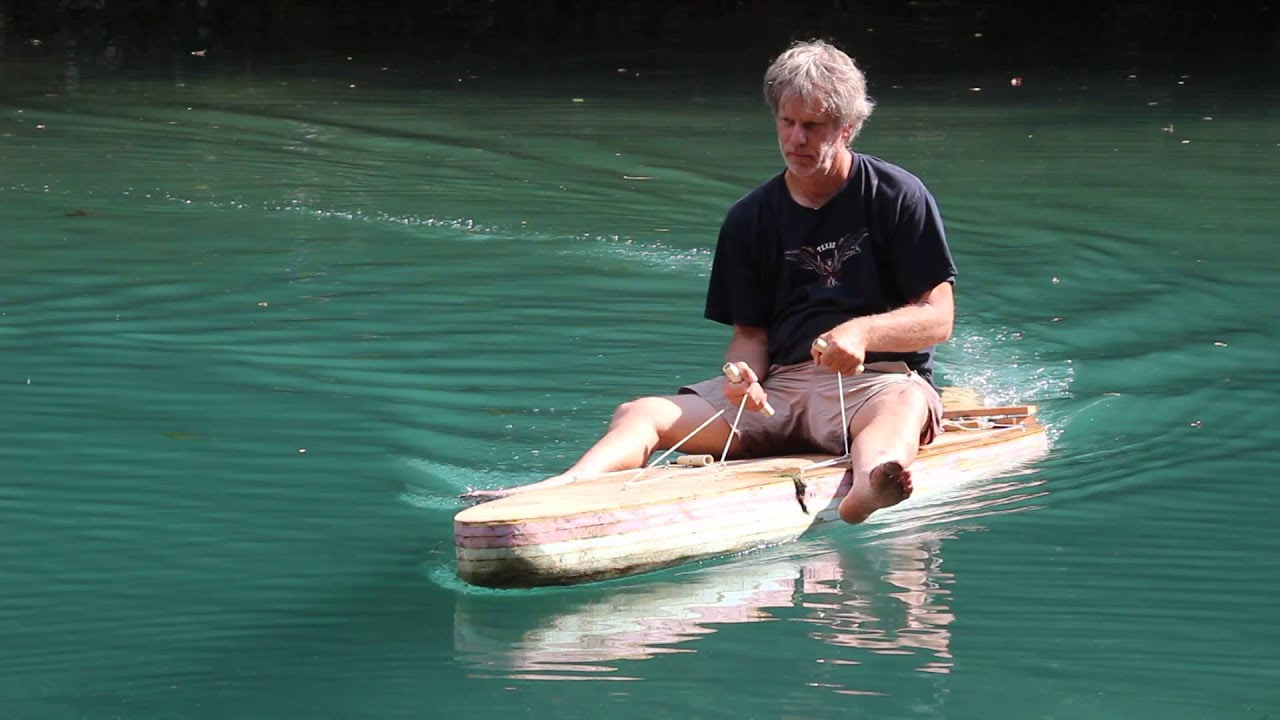 Motorized Homemade Paddle Board - YouTube