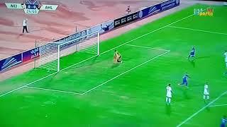 أهداف مباراة الأهلي ضد النجمة اللبنانى