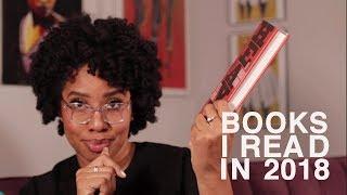 Books I Read in 2018 | #SmartBrownGirl