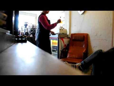 Cafe in Reykjavik