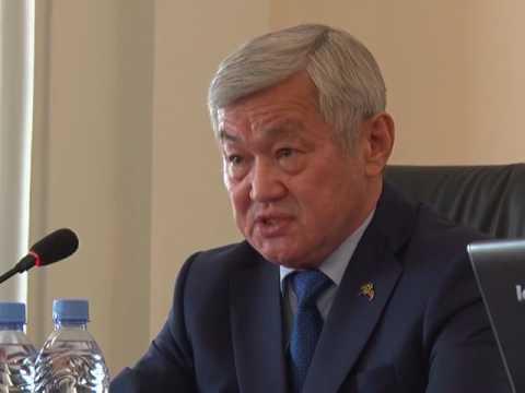 Ильяс Испанов отчитался о проделанной с начала года работе