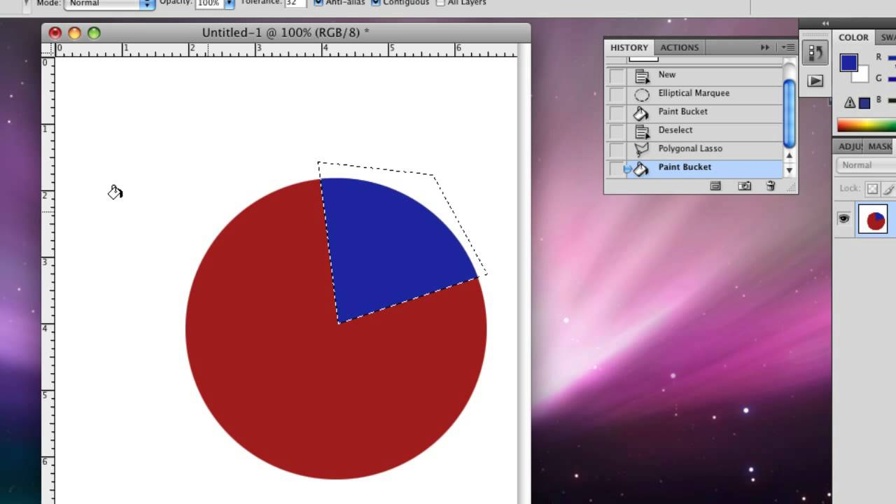How to draw a simple pie chart youtube nvjuhfo Gallery