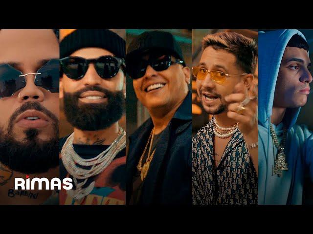 Alex Gárgolas, Mora, Luar La L, Arcangel, Darell, Brray - Las Gárgolas (Video Oficial)