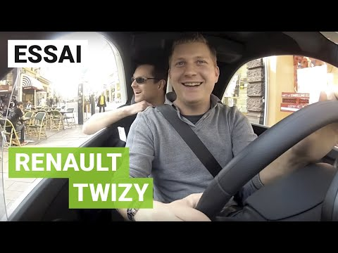 Essai Renault Twizy à Mulhouse