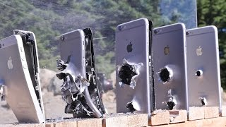 How Many iPhones Does It Take To Stop an AK-74 Bullet?(Can an iPhone 6 Plus Save Your Life? Here's How Many iPhones It Takes To Stop a Russia AK-74 Bullet. Complete Gun Destruction Test., 2015-06-22T17:46:09.000Z)