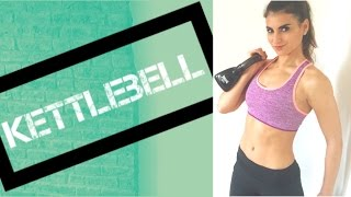 Full Body Kettlebell Tone Up Routine