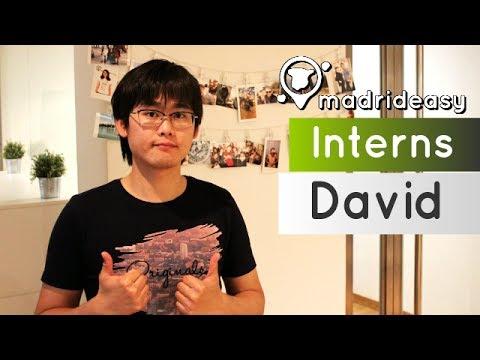 David tells about his internship at MadridEasy | Interns