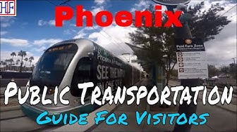 Phoenix, AZ | Phoenix Public Transportation Guide (TRAVEL GUIDE) | Episode# 4