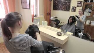 Выпрямление и восстановление волос Kerafill