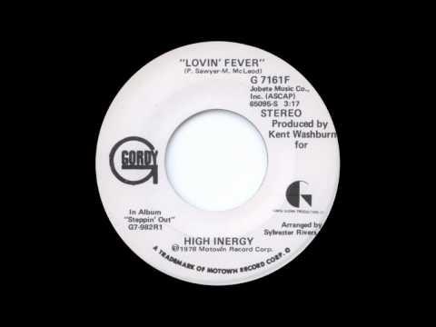 High Inergy - Lovin' Fever (Single Version)