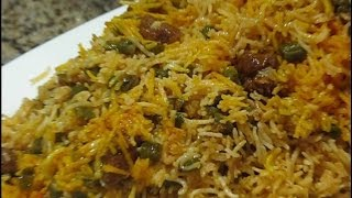 Loobia Polo  لوبیا پلو Rice with Green Beans استانبولی