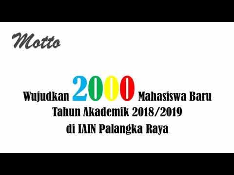 I Cant Stop Loving IAIN Palangka Raya (Gedung S1 & S2 BARU)