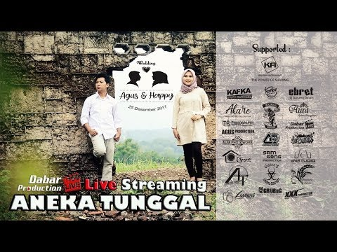 LIVE ANEKA TUNGGAL The Wedding AGUS & HAPPY Jatibarang Indra