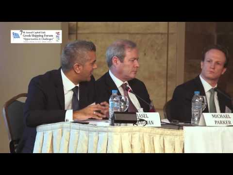 2016 7th Annual Greek Shipping Forum - Bank Finance & Shipping