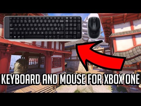 How to use a keyboard and mouse on xbox one without adapter overwatch