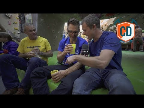 Cafe Kraft Live (ish) Jerry Moffat Book Launch | Climbing Daily Ep.1030