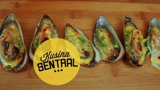 Cheesy Baked Tahong | New Filipino Cooking Channel | Kusina Sentral