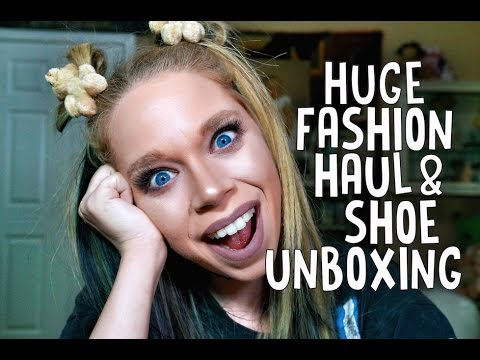 HUGE FASHION HAUL & SHOE UNBOXING! - DOLLS KILL