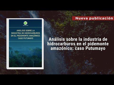 Dinámicas de las industrias extractivas en la amazonia colombiana.