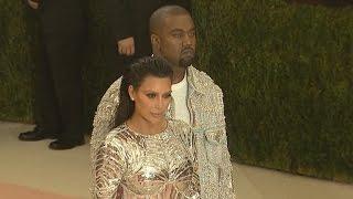 Kim Kardashian and Kanye West Stun at Met Gala as Kanye Reveals Her Dress Secret!