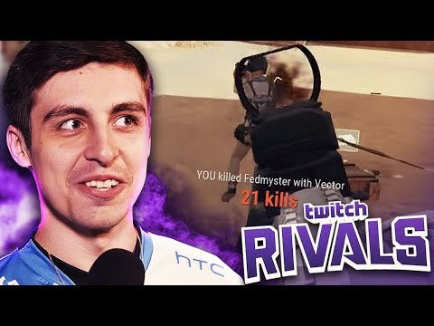 34 KILL GAME! [TWITCH RIVALS]