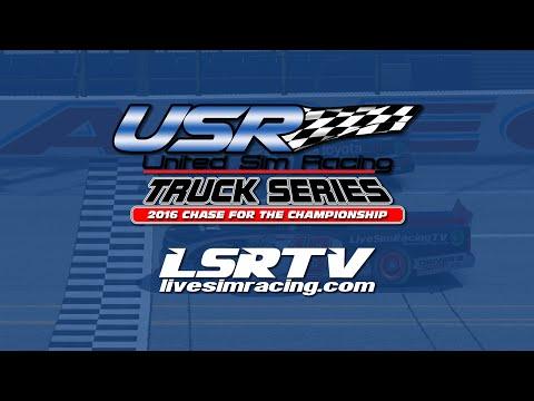 United Sim Race Truck Series LIVE from Phoenix  Round 4 