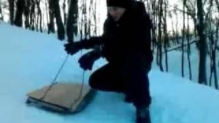 Видео обзор пацанских санок №2