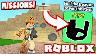 COMPLETE MISSIONS TO GET SECRET ITEMS in EPIC MINIGAMES UPDATE!! (Roblox)