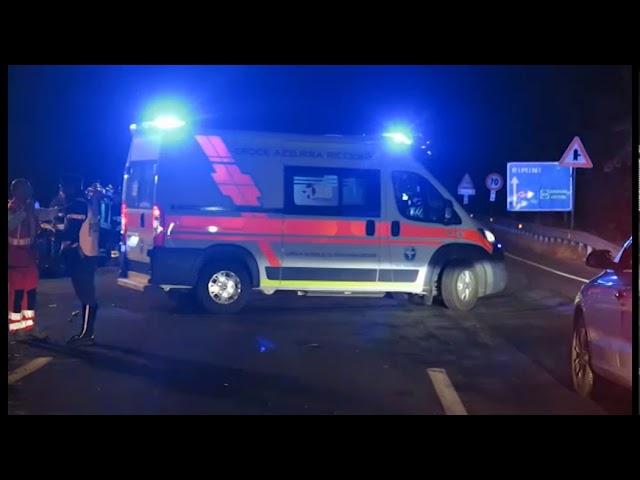 Incidente sulla Consolare. Coinvolte auto della Mille Miglia