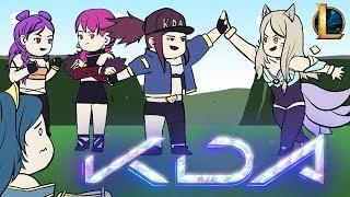lol kda kda l league of legends animation by