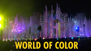 World of Color Full Show February 2019 | Disney California Adventure