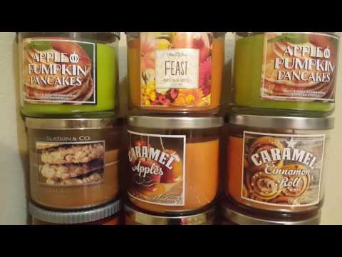 Updated FULL Candle Collection *2016*