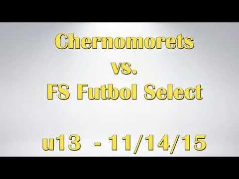 Chernomorets VS Future Stars Futbol Select u13 11/14/15